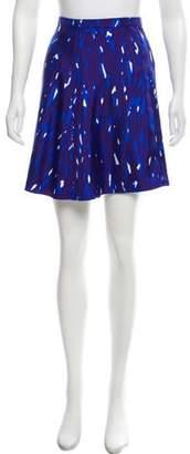 Balenciaga Abstract Print Knee-Length Skirt