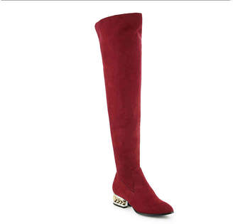 Bamboo Hype 01M Over The Knee Boot - Women's