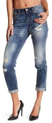 Miss Me Boyfriend Distressed Ankle Jeans