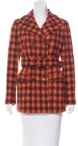 Alberta FerrettiPhilosophy di Alberta Ferretti Virgin Wool Tweed Coat