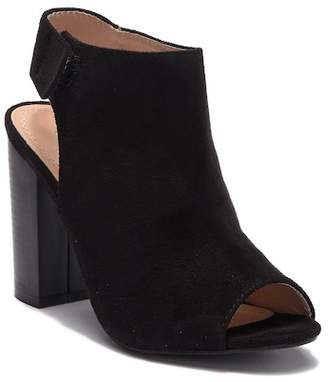 Chloé Chase & Becky Block Heel Sling Bootie