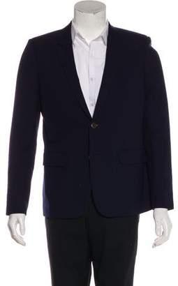 Saint Laurent 2016 Virgin Wool Silk-Lined Blazer