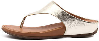 FitFlop Banda Pale gold Sandals Womens Shoes Casual Sandals-flat Sandals