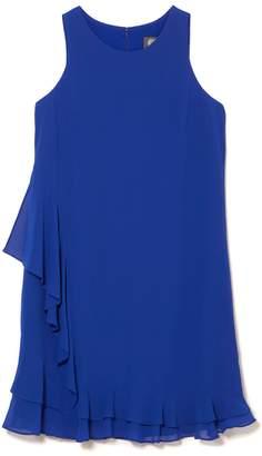 Vince Camuto Asymmetric Ruffle Dress