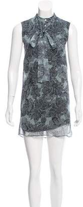 Belstaff Printed Mini Dress
