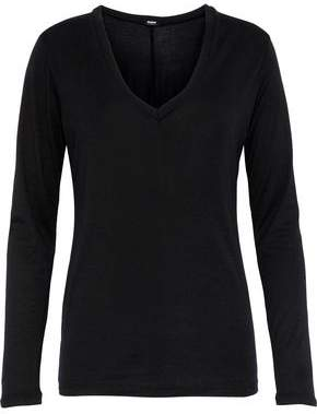 Monrow Supima Cotton And Modal-Blend Jersey Top