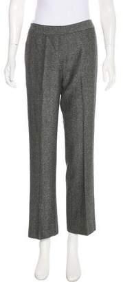 Lafayette 148 Virgin Wool-Blend Mid-Rise Pants
