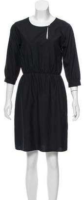 Steven Alan Silk Knee-Length Dress
