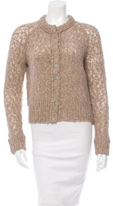 Inhabit Open Knit Long Sleeve Cardigan w/ Tags $95 thestylecure.com