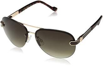 Jessica Simpson Women's J5266 Aviator Sunglasses