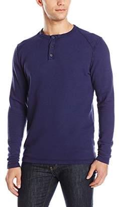 Agave Men's Essex Long Sleeve Henley Shirt