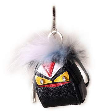 URSFUR Monster Doll Pendant Fur Bag Charm Keychain Coin Purse Key Chain Keyring