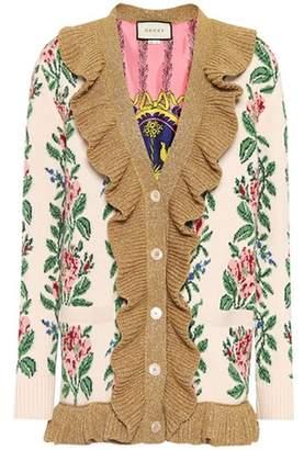Gucci Wool intarsia cardigan