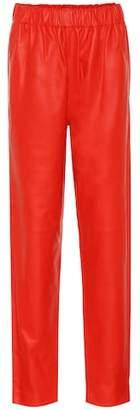 Tibi Leather pants