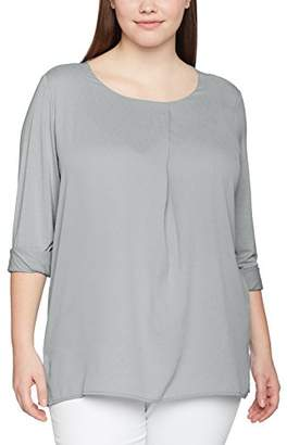 Via Appia Women's Rundhals 1/1 Arm Materialmix T-Shirt