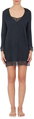 Eberjey EBERJEY WOMEN'S SLOAN LACE-TRIMMED JERSEY TUNIC DRESS $88 thestylecure.com
