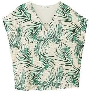 MANGO Combined printed T-shirt