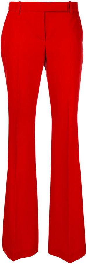 Alexander McQueenAlexander McQueen tailored flared trousers