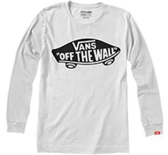 4f3e7b66cc Vans Plain Long-Sleeved Crew Neck T-Shirt
