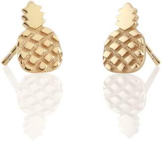 Kris Nations Pineapple Stud Earrings