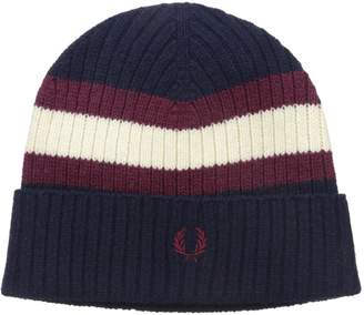 Fred Perry Men's Bomber Tipped Beanie