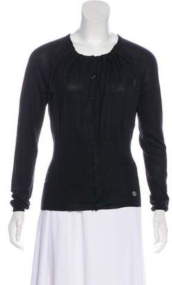 Christian Dior Cashmere and Silk Cardigan