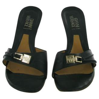Gianni Versace Leather Mules & Clogs