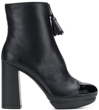 Hogan ankle platform boots