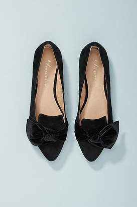 Anthropologie Alexandra Bow-Tied Flats