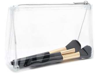 FOREVER 21+ Clear Vinyl Makeup Bag $5.90 thestylecure.com