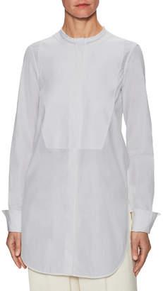 Celine Solid Paneled Shirt
