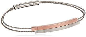 Skagen Elin Two-Tone Cable Bracelet