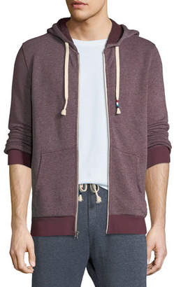 Sol Angeles Men's Roma Heathered Zip-Front Hoodie