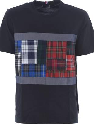 Tommy Hilfiger Tartan Panel T-shirt