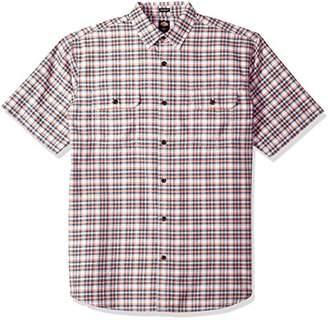 Dickies Men's Plaid Short Sleeve Shirt