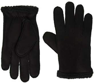 Tommy Hilfiger Men's Faux Shearling Gloves, Large/Extra Large