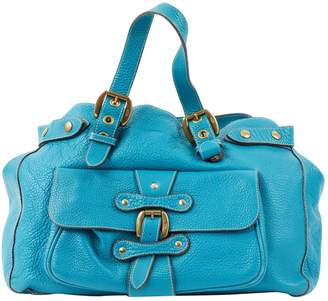 J&M Davidson J & M Davidson Blue Leather Handbag