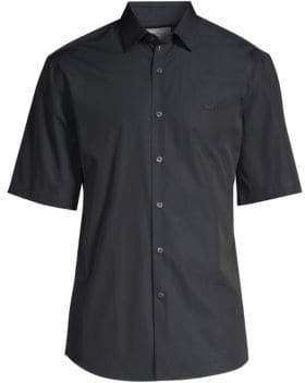 Salvatore Ferragamo Short Sleeve Sports Shirt