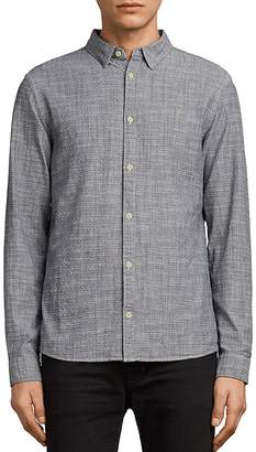 AllSaints Dulwich Regular Fit Button-Down Shirt