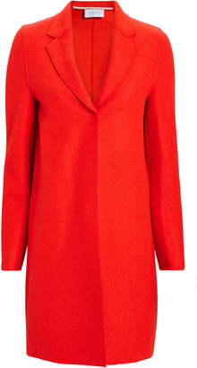 Harris Wharf London Orange Cocoon Coat