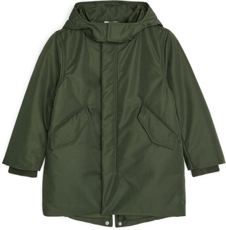 Arket Water-Repellent Padded Parka