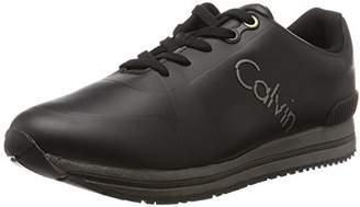 Calvin Klein Men's Edwin Rub Smooth/Hf Trainers,45 EU