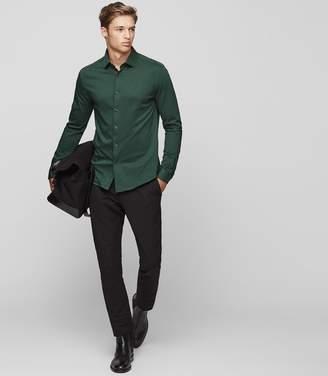 Reiss Hilson Jersey Cotton Shirt