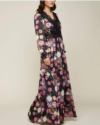 Juicy Couture Botanical Floral Maxi Dress