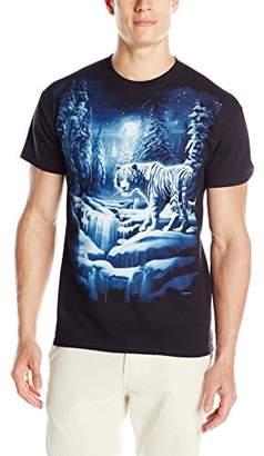 Liquid Blue Men's Snow Tiger T-Shirt