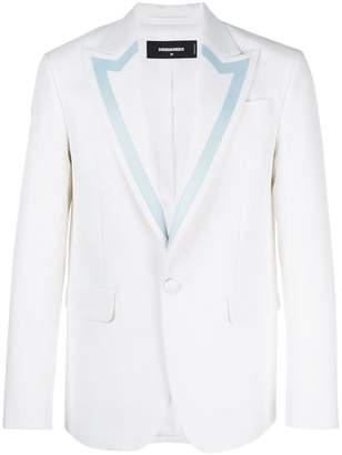 DSQUARED2 blazer with contrast trim