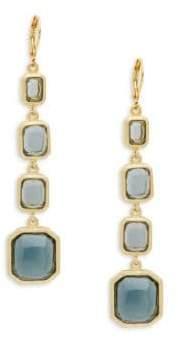 Rivka Friedman Faceted Crystal Drop Earrings
