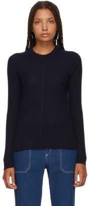 Chloé Navy Classic Crewneck Sweater