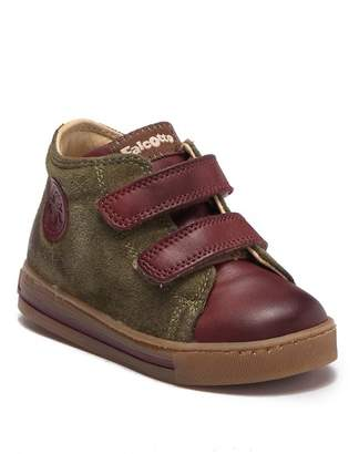 Naturino Michael Leather Strap Sneaker (Toddler)