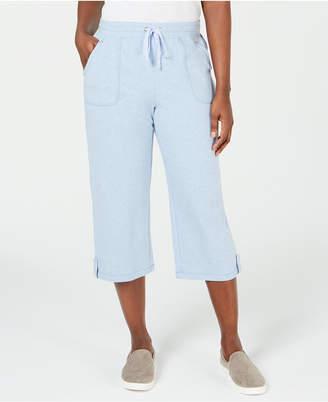 Karen Scott French Terry Capri Pants